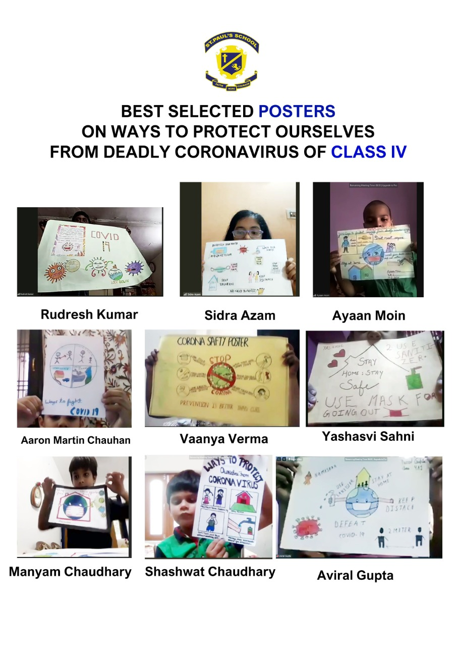 Best Selected Poster of Class4